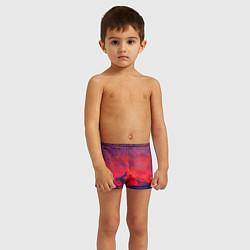 Плавки для мальчика Абстракция цвета 3D — фото 2