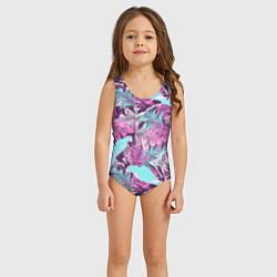 Купальник для девочки Summer paradise цвета 3D — фото 2