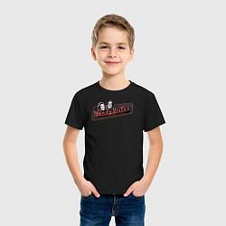 Футболка хлопковая детская ВандаВижен цвета черный — фото 2