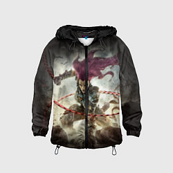 Ветровка с капюшоном детская Darksiders Warrior цвета 3D-черный — фото 1