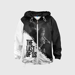 Ветровка с капюшоном детская The Last of Us: White & Black цвета 3D-белый — фото 1