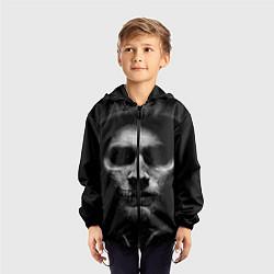 Ветровка с капюшоном детская Sons Of Anarchy цвета 3D-черный — фото 2