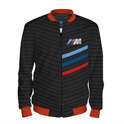 Бомбер мужской BMW: M Tricolor Sport цвета 3D-красный — фото 1