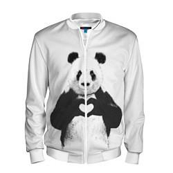 Мужской бомбер Panda Love