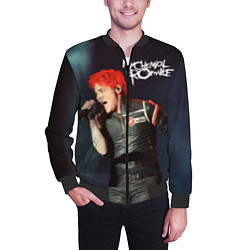Бомбер мужской Gerard Way цвета 3D-черный — фото 2