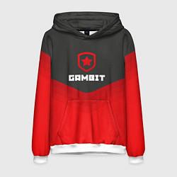 Толстовка-худи мужская Gambit Gaming Uniform цвета 3D-белый — фото 1