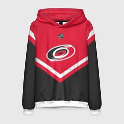 Толстовка-худи мужская NHL: Carolina Hurricanes цвета 3D-белый — фото 1