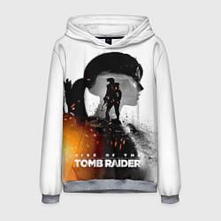 Толстовка-худи мужская Rise of the Tomb Raider 1 цвета 3D-меланж — фото 1