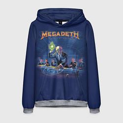 Толстовка-худи мужская Megadeth: Rust In Peace цвета 3D-меланж — фото 1