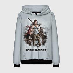 Толстовка-худи мужская TOMB RAIDER цвета 3D-черный — фото 1