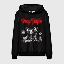 Толстовка-худи мужская Deep Purple цвета 3D-черный — фото 1