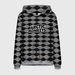 Толстовка-худи мужская Arctic Monkeys: Black style цвета 3D-меланж — фото 1