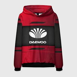 Толстовка-худи мужская Daewoo Sport цвета 3D-черный — фото 1