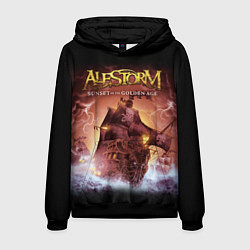 Толстовка-худи мужская Alestorm: Golden Ship цвета 3D-черный — фото 1