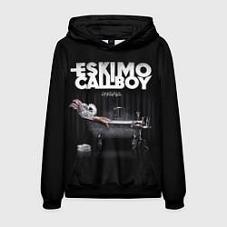 Толстовка-худи мужская Eskimo Callboy: Crystalis цвета 3D-черный — фото 1