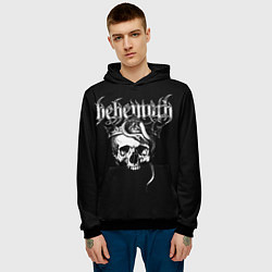 Толстовка-худи мужская Behemoth цвета 3D-черный — фото 2