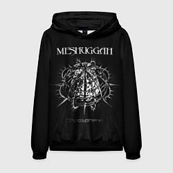 Толстовка-худи мужская Meshuggah: Chaosphere цвета 3D-черный — фото 1