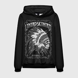 Толстовка-худи мужская Lynyrd Skynyrd: Jacksonville цвета 3D-черный — фото 1
