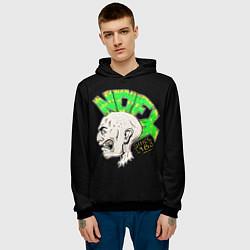 Толстовка-худи мужская NOFX Punks цвета 3D-черный — фото 2