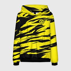Толстовка-худи мужская FC Borussia цвета 3D-черный — фото 1