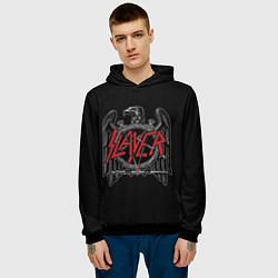 Толстовка-худи мужская Slayer цвета 3D-черный — фото 2