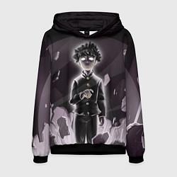 Толстовка-худи мужская Mob psycho 100 Z цвета 3D-черный — фото 1