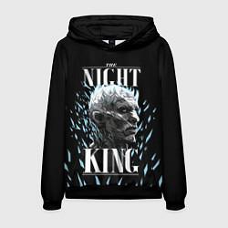 Толстовка-худи мужская The Night King цвета 3D-черный — фото 1