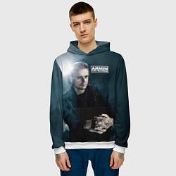 Толстовка-худи мужская Armin Van Buuren цвета 3D-белый — фото 2