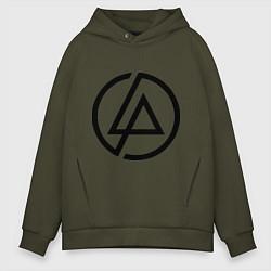 Мужское худи оверсайз Linkin Park: Sybmol