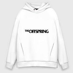 Толстовка оверсайз мужская The Offspring цвета белый — фото 1