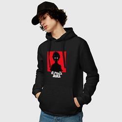Толстовка-худи хлопковая мужская Mob psycho 100 Z цвета черный — фото 2