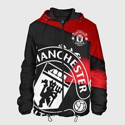 Куртка с капюшоном мужская FC Man United: Exclusive цвета 3D-черный — фото 1