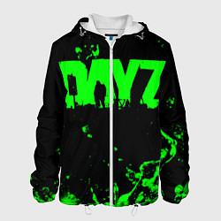Куртка с капюшоном мужская Dayz цвета 3D-белый — фото 1