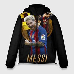 Куртка зимняя мужская Messi Star цвета 3D-черный — фото 1