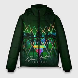 Куртка зимняя мужская Tokio Hotel: Dream Machine цвета 3D-черный — фото 1
