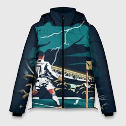 Куртка зимняя мужская Ronaldo lightning цвета 3D-черный — фото 1