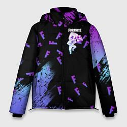 Куртка зимняя мужская FORTNITE MARSHMELLO цвета 3D-черный — фото 1