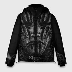 Куртка зимняя мужская Mortal Shell цвета 3D-черный — фото 1