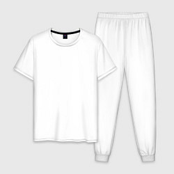 Пижама хлопковая мужская TES: Imperial Legion цвета белый — фото 1