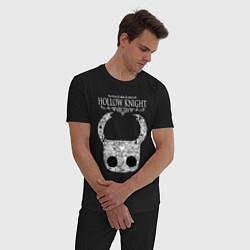 Пижама хлопковая мужская Hollow Knight цвета черный — фото 2