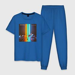 Пижама хлопковая мужская IMAGINE DRAGONS цвета синий — фото 1