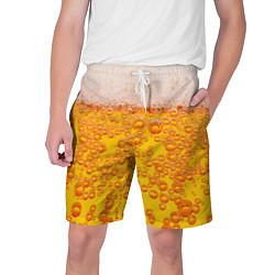 Шорты на шнурке мужские Пивная тема цвета 3D-принт — фото 1