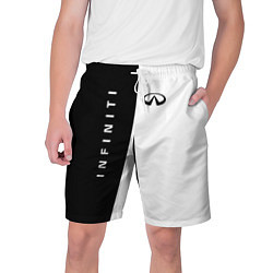 Мужские шорты Infiniti: Black & White