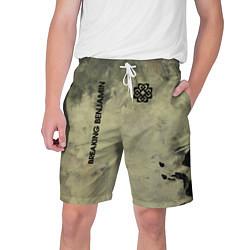 Шорты на шнурке мужские Breaking Benjamin цвета 3D — фото 1