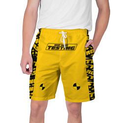 Шорты на шнурке мужские ASAP Rocky Testing цвета 3D-принт — фото 1