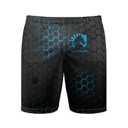Шорты спортивные мужские Team Liquid: Carbon Style цвета 3D — фото 1