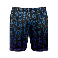 Шорты спортивные мужские Blue Runes цвета 3D — фото 1