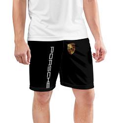 Шорты спортивные мужские PORSCHE цвета 3D — фото 2