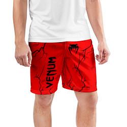 Шорты спортивные мужские VENUM ВЕНУМ цвета 3D-принт — фото 2