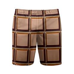 Мужские спортивные шорты Шоколад